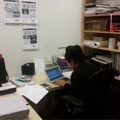 Shared Office Space Freelancers -Head Down, Work Work Work